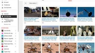 La NASA publicó 300 videos inéditos en YouTube