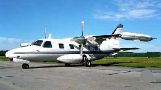 Con limitaciones por el mal tiempo, se reanudó la búsqueda del avión desaparecido hace 8 días