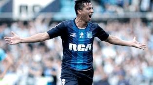 Diego González se entrenó de manera diferenciada por una sobrecarga muscular