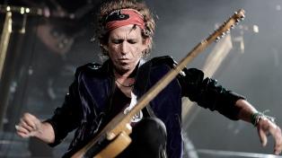 Keith Richards confirmó que los Stones trabajan en un nuevo álbum