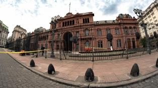 Reforzaron la seguridad en el perímetro de la Casa Rosada