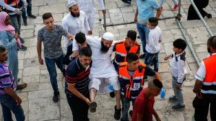 Los musulmanes volvieron a la Explanada de las Mezquitas