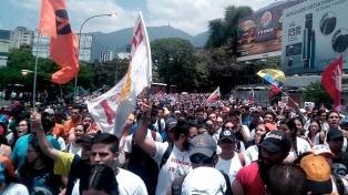 La oposición postergó para mañana la marcha contra la Constituyente