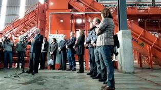 Inauguraron en Rosario el nuevo Centro de Gestión Integral de Residuos sólidos