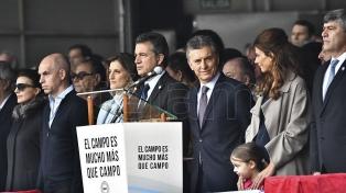 """El campo """"está entusiasmado con los anuncios de Macri"""", dijo el titular de la SRA"""