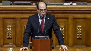 El jefe del Parlamento aseguró que la prioridad es el canal humanitario