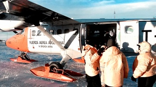 El rescate del marino accidentado demandó 3 mil kilómetros de vuelos sobre el mar