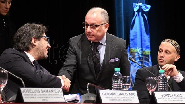 Resultado de imagen para Faurie, Garavano y derechos humanos