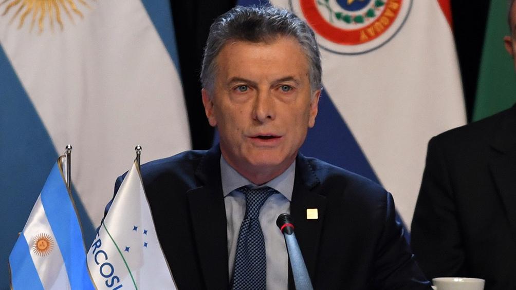 Macri viaja a Brasil para participar de la cumbre del Mercosur
