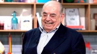 Juan Carlos Saravia (89), el líder de Los Chalchaleros.