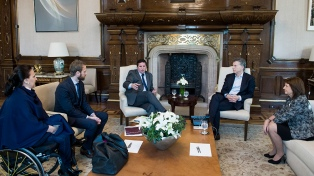 Macri se reunió con fiscales que atienden causas por narcotráfico y secuestros extorsivos