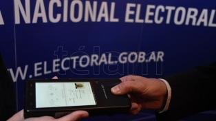 Autoridades electorales presentaron el software biométrico que se utilizará en las paso