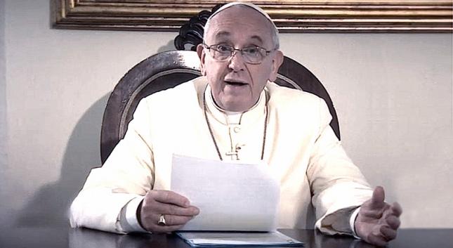 VIDEO#8 de intenciones de oración 2017: El Papa pide por los artistas
