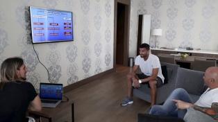 Sampaoli mantuvo reuniones con Biglia y Musacchio en Milán