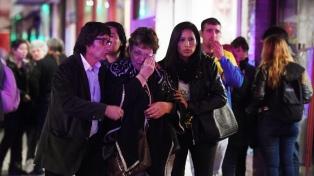 Familiares y amigos despiden a Anahí Benítez en Lomas de Zamora