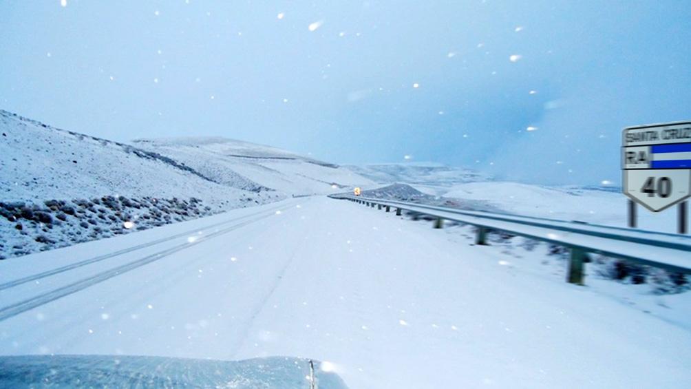 TIERRA DEL FUEGO: Alerta por nevadas persistentes en la Patagonia