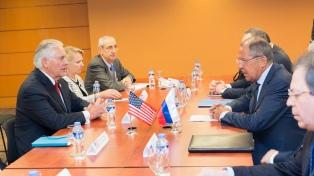Para el secretario de Estado de EEUU, su país y Rusia deben resolver los problemas
