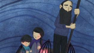 Exponen ilustraciones para visibilizar la crisis de los refugiados en el mundo