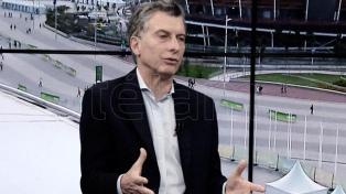 Macri dijo que es genuino el reclamo de Vidal por el Fondo del conurbano