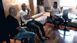 Sampaoli se reunió con Mascherano en Barcelona