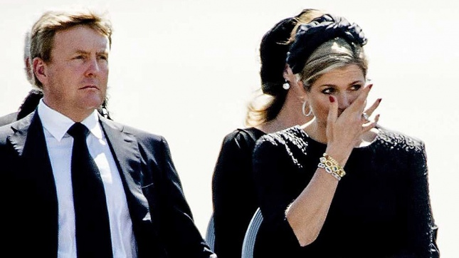 La reina Máxima despide a su padre en familia
