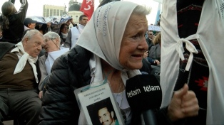 """Nora Cortiñas pide que """"no lleven banderas partidarias"""" a la concentración en Plaza de Mayo"""
