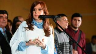 Cristina Kirchner afirmó que su fuerza política ganó en agosto y puede ganar también en octubre