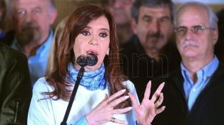 Para Cristina Kirchner, en octubre se define si se rechaza o se convalida en el Senado la flexibilización laboral