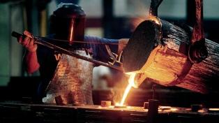 La producción de acero crudo creció en julio 12% interanual