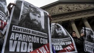 Un comité de la ONU pide que esclarezca la actuación de la Gendarmería en el caso Maldonado
