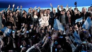 """Cristina Kirchner: """"Hemos ganado las elecciones"""""""