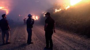 Se confirma el deceso de una tercera víctima por el incendio en las serranías de Sama