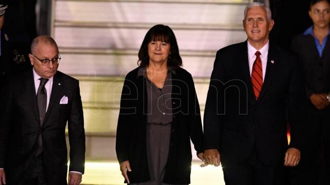 El vicepresidente de EE.UU. llega a Chile para reunirse con Bachelet