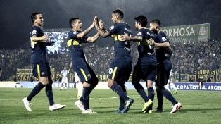 Boca goleó a Gimnasia y Tiro en Formosa
