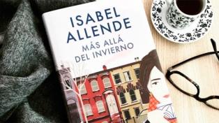 """""""Más allá del invierno"""", de Isabel Allende, al tope de las ventas"""