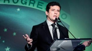 El juez Moro felicita a Bolsonaro y le pide reformas en la economía
