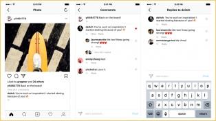 Instagram permite ahora realizar comentarios  en cadena