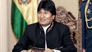 La aprobación del presidente Evo Morales es del 49%