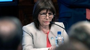 La ministra Bullrich valoró el trabajo de todas las fuerzas de seguridad
