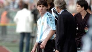 Hace 12 años Messi debutaba en la selección frente a Hungría