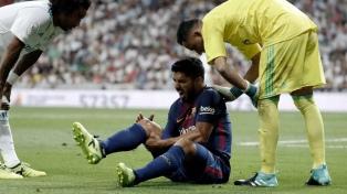 Luis Suárez no jugará frente a la Argentina