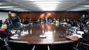 El Consejo de la Magistratura celebra su último plenario antes de los cambios