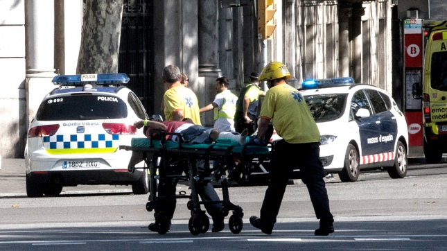 Vinculan 3 camionetas con actos terroristas en Barcelona