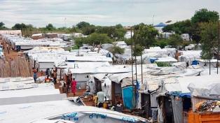 Los refugiados de Sudán del Sur superan el medio millón
