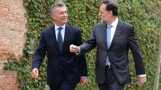 Macri y Rajoy pasarán revista al acuerdo Mercosur-UE y al ingreso de la Argentina en la OCDE