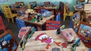Presos fabricaron juguetes para internados en el Hospital Garrahan por el Día del Niño