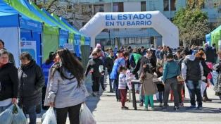 """""""El Estado en tu Barrio"""" estará presente en 12 municipios bonaerenses"""