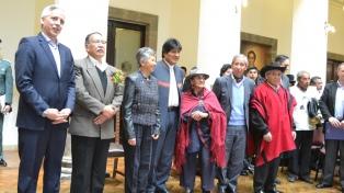 Morales instaló una Comisión de la Verdad para investigar crímenes de las últimas dictaduras