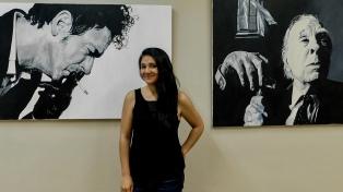 Cecilia Mendoza, la artista argentina con Síndrome de Asperger que superó el bullying y ahora expone en Europa