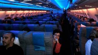 Aerolíneas Argentinas registra este año una mayor ocupación en sus vuelos internacionales